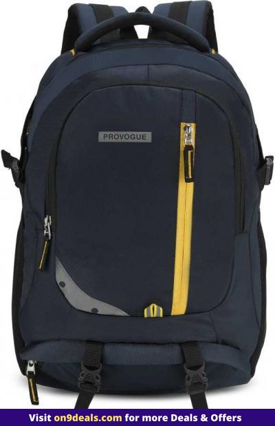 Provogue Backpacks Minimum 80% Discount + Free Shipping