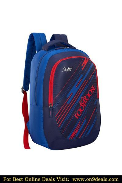 Skybags Ceres 27 Ltrs Navy Blue Casual Backpack With 1 Year Warranty